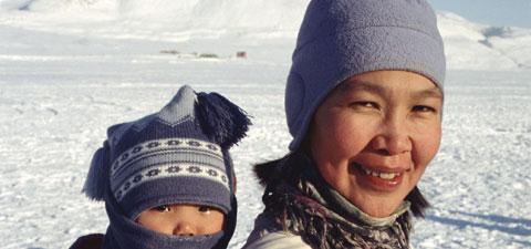 femme inuite
